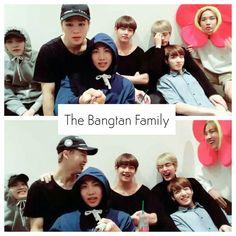 The Bangtan Family ❤ BTS ~chuseok greeting~ Live on Vapp #BTS #방탄소년단