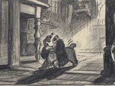 Enjoy a collection of 70 Original Concept Art, Model Sheets, Character Design, Background & mroe made for Disney Classic: Lady and the Tramp. The romantic
