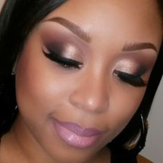 Mac Cosmetics for African Americans | ... weapon palette on eyes..... plum lip liner and myth lipstick by mac