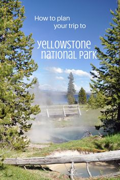 How to plan your trip to Yellowstone National Park, Wyoming - Travel USA - Exloration America Yellowstone Vacation, Yellowstone National Park, Wyoming Vacation, Visit Yellowstone, Yellowstone Camping, Tennessee Vacation, Places To Travel, Places To Go, Travel Destinations