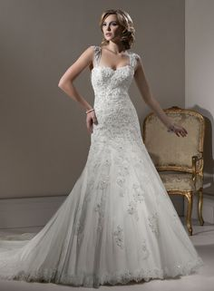 Beatrice Bridal Gown-Maggie Sottero (also in strapless)
