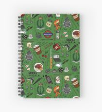 Sherlock Collage (color) Spiral Notebook