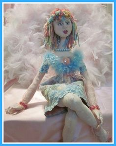 Candy - My Art Doll Creation - You can find her on Etsy @ my gracie mae designs