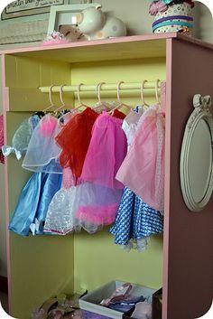 Little Girls Dress Up Tower | AlwaysChasingLife | Pinterest | Girls Dresses,  Room And Playrooms