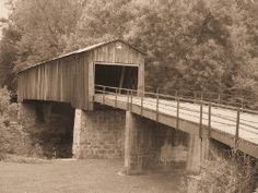 The Euharlee Creek Covered Bridge | By the mid-1870s, freed slave and noted Bridge builder Horace King had begun to pass on his bridge construction activities to his five children, who formed the King Brothers Bridge Company. In 1886, his son, Washington King and a local man named Jonathan H. Burke were contracted by Bartow County to construct a 138-foot covered bridge spanning Euharlee Creek near the Lowry Mill.