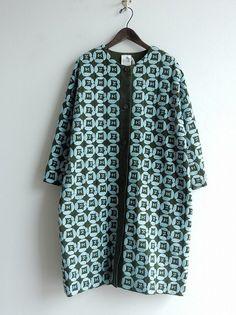 ミナペルホネンランドリー mina perhonen laundry dear コーデュロイ刺繍コート size38 (jk33-1703-702) /ナチュラル服古着通販drop