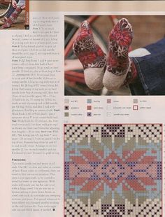 """Beautiful ... the bottom chart fits the """"only two colors per row"""" fair isle tradition"""