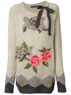 Twin-set Floral Sweater - - Farfetch.com