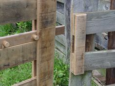 Beautiful rustic gate latch