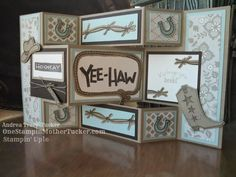 One Stampin' Mother Tucker: Can I get a Yee Haw?