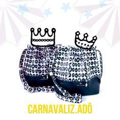Mais um pouquinho de inspiração carnavalesca 👑❤️ Bucket Artsy Mini Bola…