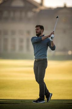 :) Jamie, Alfred Dunhill Championship, St Andrews Oct 1, 2015