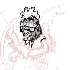 di lanjut setelah lebaran #wip #art #illustration #digitaldrawing #gajahnakaldesign by gajahnakal mail me on doaibv@gmail.com