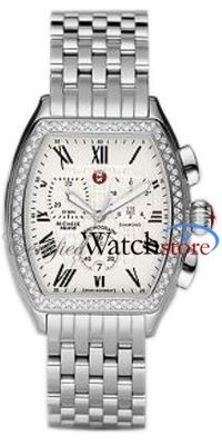 Michele MWW19A000001 Watch Releve Ladies - White Dial Stainless Steel Case Swiss Movement