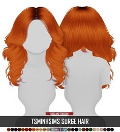 Sims 4 Hairs ~ Coupure Electrique: Tsminh`s Surge hair retextured – Kids and Toddlers Version - nimivo sites The Sims 4 Pc, Sims 2, Sims Four, Sims 4 Cas, Sims 4 Toddler Clothes, Sims 4 Cc Kids Clothing, Sims 4 Mods Clothes, Toddler Girls, Toddler Outfits