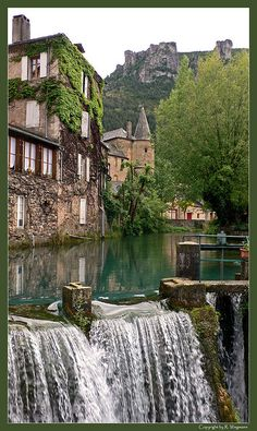 It is a commune of the Lozère department in southern France. Places Around The World, Oh The Places You'll Go, Places To Travel, Places To Visit, Around The Worlds, Dream Vacations, Vacation Spots, Vila Medieval, Ville France