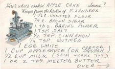 Create a Family Cookbook Project Family Recipe Book, Family Bonding, Recipe Filing, Create A Family, Cake Servings, Apple Cake, Recipe For 4, Recipe Cards, Bookbinding