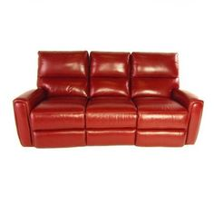 Campania 2 Piece Top Grain Leather Power Reclining Set