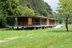 Centro de Interpretación del hórreo en población de Bueño Ribera de Arriba #Asturias // Interpretation centre of the 'Hórreo' in the village Bueño in Ribera de Arriba #Asturias