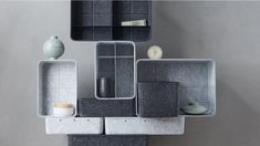 Goodbye, small parts! Goodbye, heavy wall unit! The tendency is clearly going towards open rooms and unconventional solutions. Rooms coalesce and influence the character of the furnishings. Smart Home, Floating Shelves, Minimalist, Rooms, The Unit, Future, Wall, Character, Home Decor
