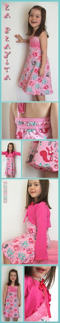 ... ist dieses La Playita  Sommerkleid (die Mama-Version haben wir euch ja schon hier  gezeigt).   Da es im Moment draußen überhaupt (!) nic...