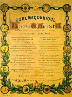 En ces temps où la valeur, le devoir du franc-maçon sont mis en exergue, j'ai cru bon de lire cette planche de la loge de Genève « Tolérance et Fraternité » intitulée « Quid du Code maçonnique ?« Le Code maçonnique est un exposé des règles traditionnelles d'éthique que doivent (ou devraient) respecter les véritables francs-maçons ! Lien : http://www.tolerance-fraternite.ch/travaux_de_groupe/Quidcode.pdf