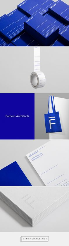 Fathom Architects by dn&co — The Brand Identity - created via https://pinthemall.net