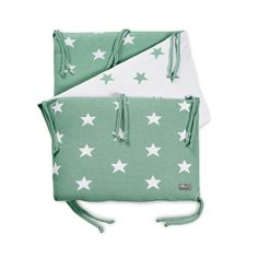 Bumber Star - Sea green By Baby's Only - www.babysonly.nl