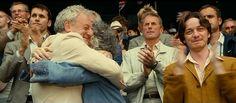 Screencap of James McAvoy as Carl Colt in Wimbledon (2004)