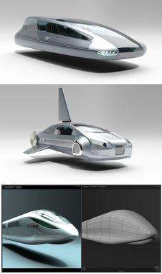 Decor: Futuristic Vehicles