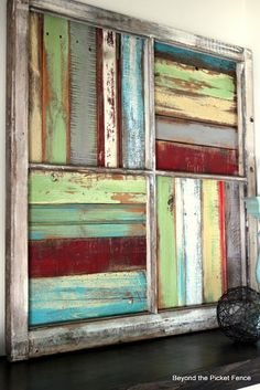 Beyond The Picket Fence: Window Salvage                                                                                                                                                                                 More