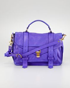 Proenza Schouler PS1, Purple Rain. - we love anything with a Prince reference.