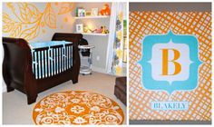 My little girls nursery featured on Project Nursery! So proud