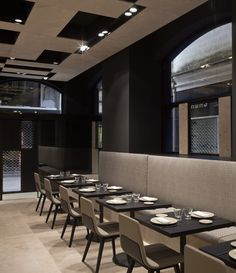 Nu, restaurant in Girona, Spain by architect Francesc Rife _