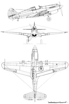 vintage plane blueprint - Google Search