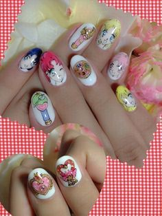 Sailor Moon Nails☆ | Tokyo Otaku Mode