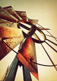 Old Windmill Photo Rustic