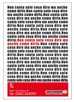 Manifesti pubblicitari affissione locandine Scopri di più su www.guidoborgonovo.it