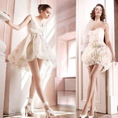 Short Wedding Dresses for Simple and Fun Look | Wedding Dresses Inspiration