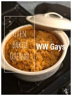 Quinoa has transformed how we eat because it is so versatile and very likely because of how we bake it! Weight Watchers Smart Points, Weight Watchers Diet, Ww Recipes, Baking Recipes, Mozzarella Sticks, Roasted Red Peppers, 2 Ingredients, Oven Baked, Us Foods