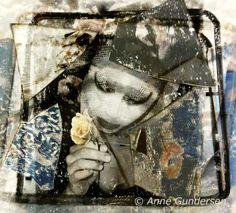"Fotocollage ""The Mirror"" Collage, Photo Art, Painting, Pictures, Collages, Painting Art, Paintings, Drawings"