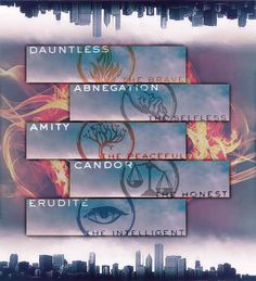 Veronica Roth chose the location for Abnegation headquarters before any of the other factions.