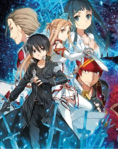Sword Art Online (S.A.O) Blu-ray Box Set 1: Aincrad Part 1 (Hyb) Limited Ed. #RightStuf2013