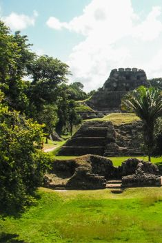 The Mayan Ruin of Xunantunich, located in San Ignacio Belize, was an amazing place to. explore. Don't miss it. #Belize #CentralAmerica #MayanRuin