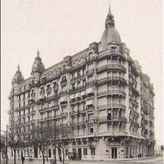 Edificio Calvet -(Av. Corrientes y Av. L. N. Alem) -  Arq. Gastón Mallet (demolido)