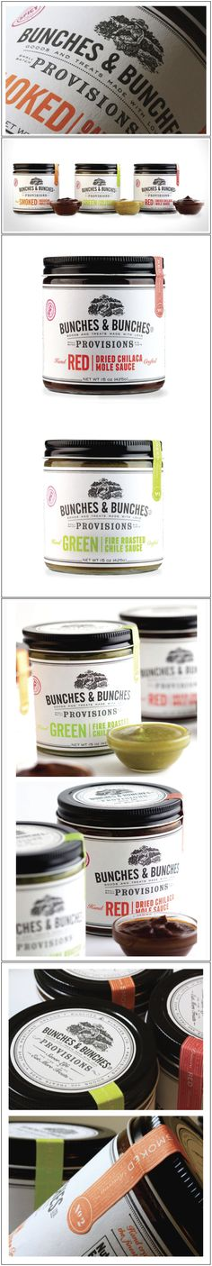 Bunches & Bunches, Gourmet Foods, Portland, Oregon  - Designed By Miller Creative