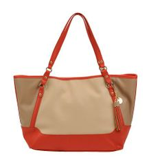 #sale Jessica Simpson Jackie Travel Tote,Red/Cashew,One Size