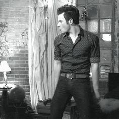 Those hip movements and those facials! Chris kills me!