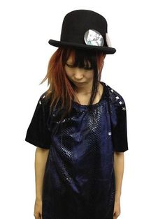 Snake Pattern T-Shirt w/ Studs / See more at http://www.cdjapan.co.jp/apparel/new_arrival.html?brand=SLV #harajuku