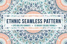 Ethnic Seamless Pattern by barsrsind on @creativemarket